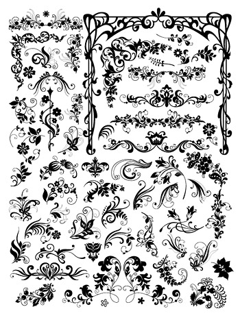 pattern background black and white. Other Files. A variety of